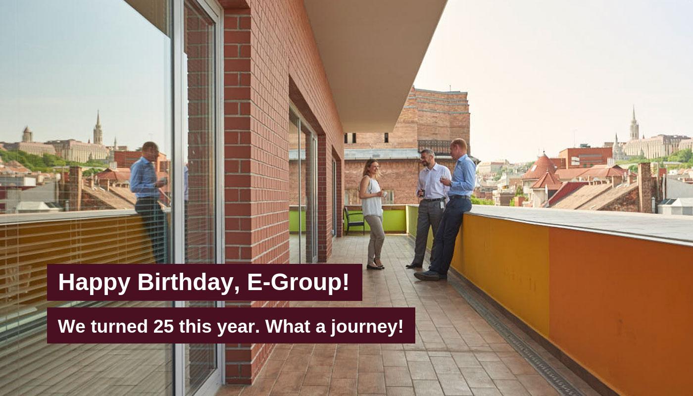 E-Group Birth Day