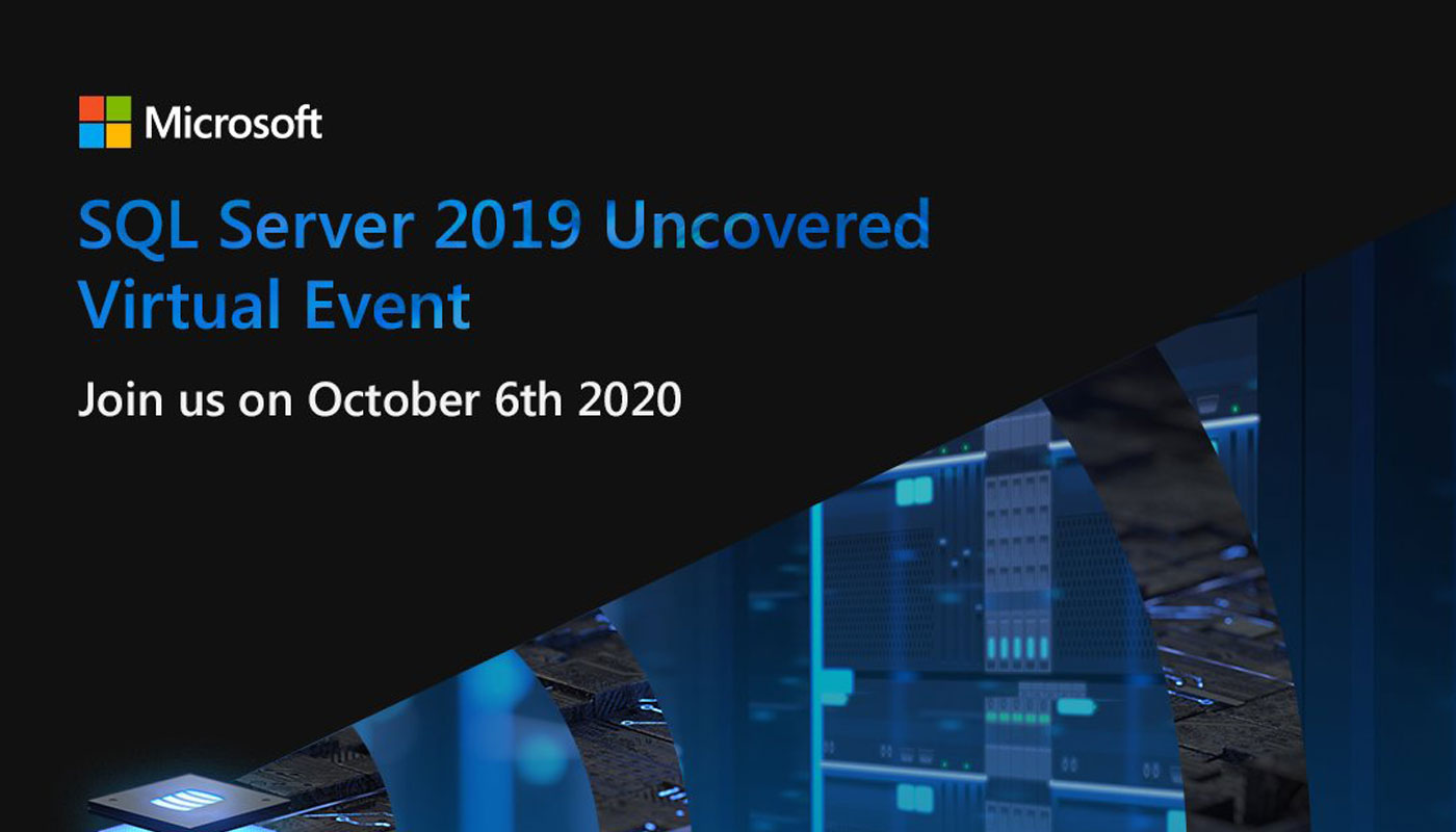 SQL Server 2019 Virtual Event